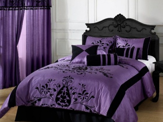 Purple Bedroom Idea for Adults