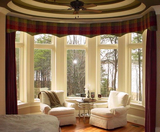 Bay Window Covering