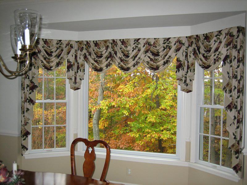 Bay Window Valance Ideas