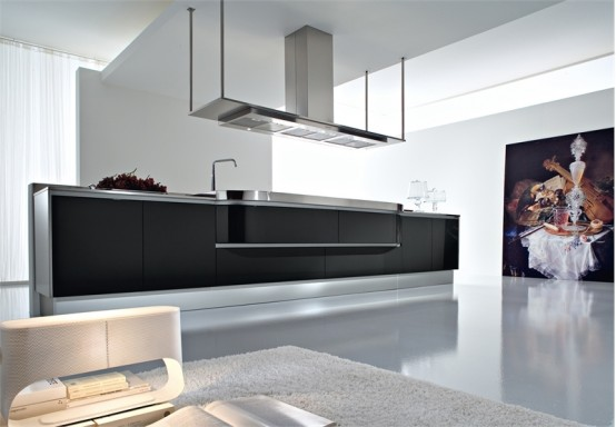Black And White Kitchen Decorating
