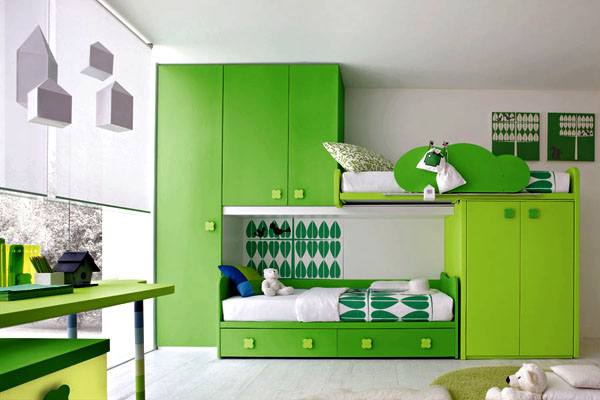 Color Kids Bedroom