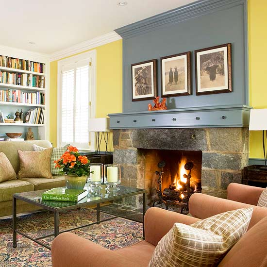 Decorating Ideas Fireplace Mantel