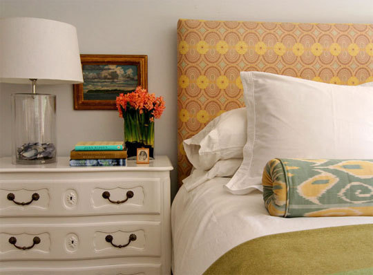 Fabric Covered Headboard DIY