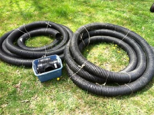 French Drain Perforated Pipe