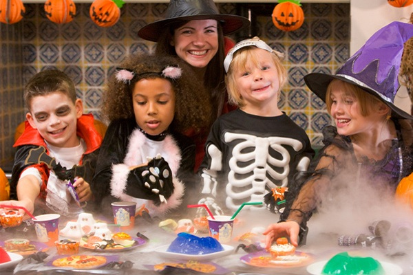 Halloween Party Decorating Ideas For Kids