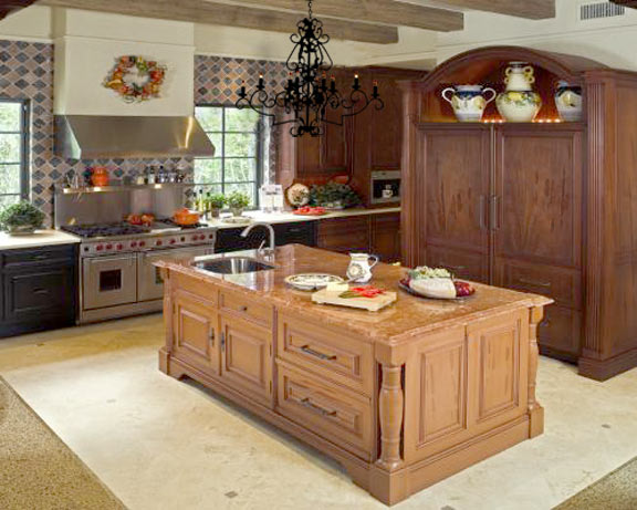 Tips to decorate small kitchen home decor report for Kitchen island cabinet plans