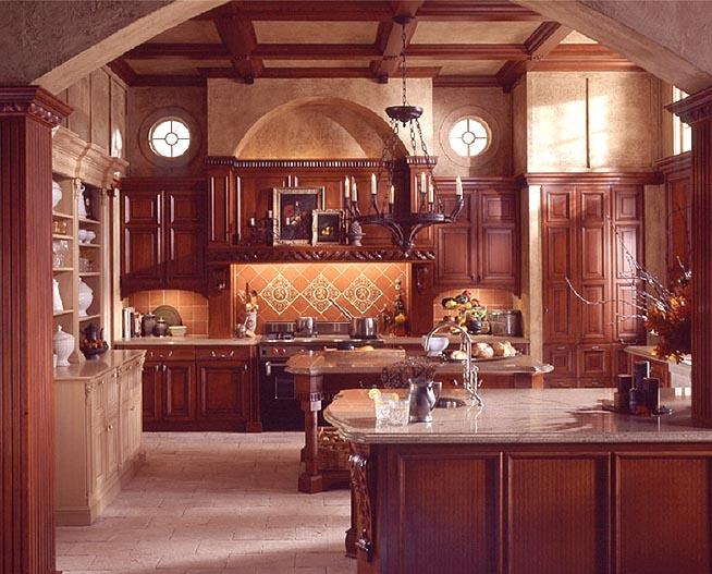 Old World Style Kitchen Design