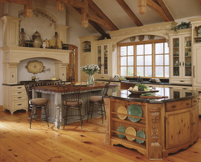 Old World Style Kitchens