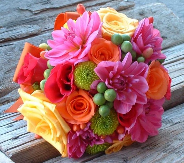Simple Flower Arrangement Pictures