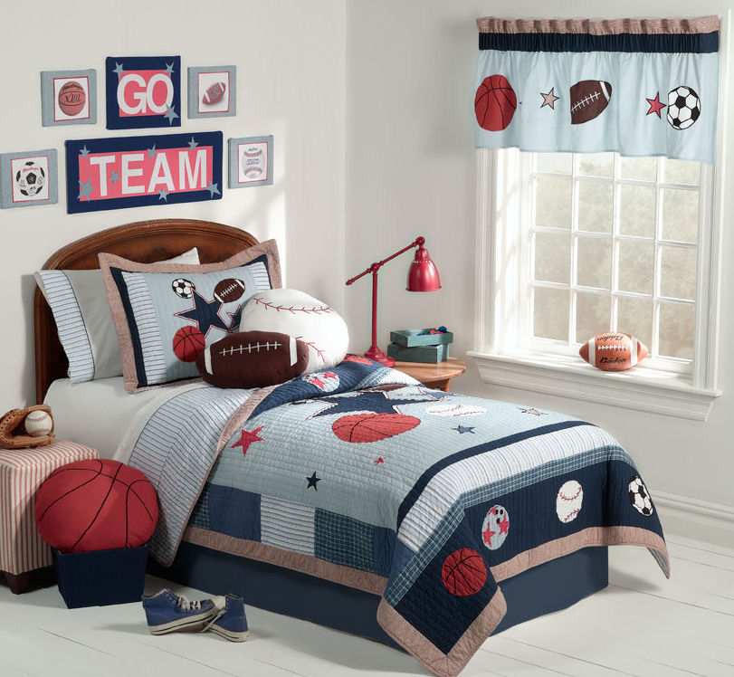 7 Ideas Sport Themed Bedrooms Home Decor Report