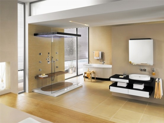 Tips to create minimalist bathrooms and showers home for Creating a minimalist home