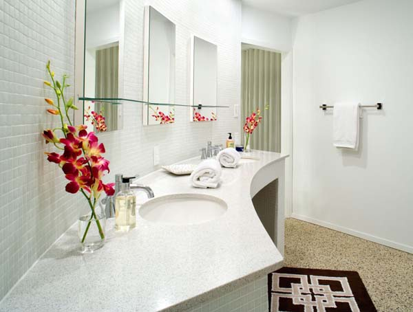 Bathroom Flower Arrangements