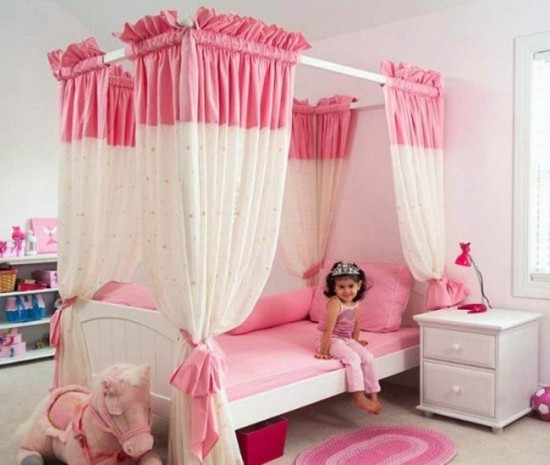 Beautiful Girls Bedroom Pink