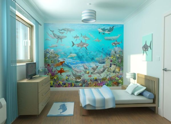 Bedroom Underwater Theme