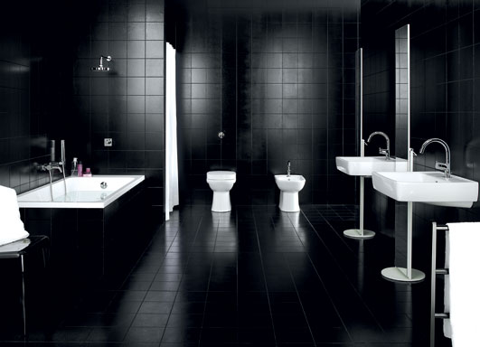 Black Bathroom Designs