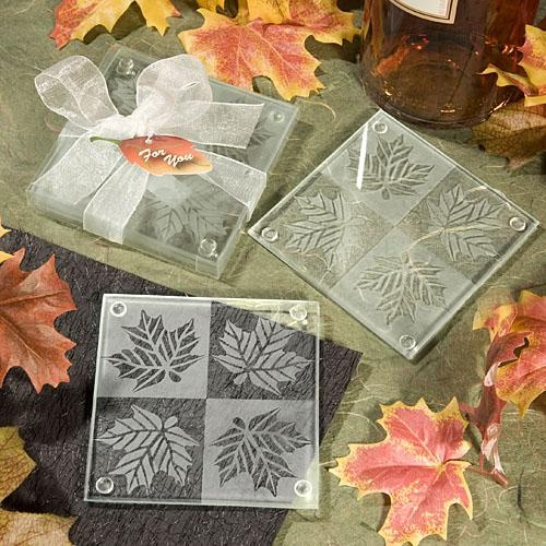 Clear Glass Coasters