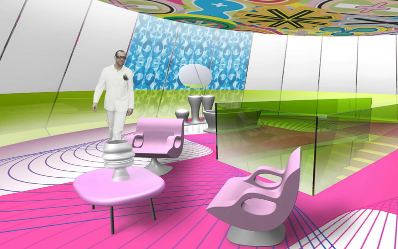 4 ideas from karim rashid interior elements home decor report - Decoration mural design ...