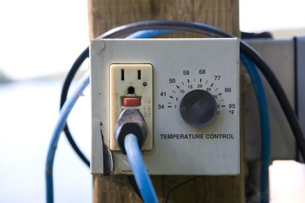 Exterior Electrical Outlet