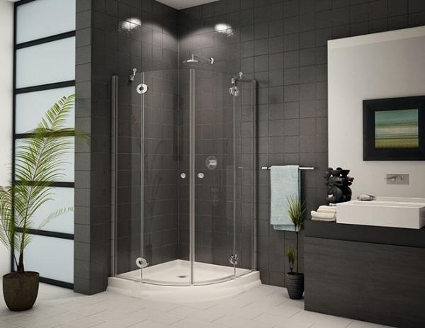 Fiberglass Shower Enclosure
