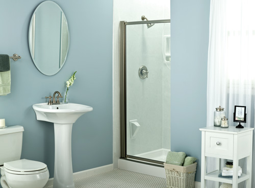 Fiberglass Shower Unit