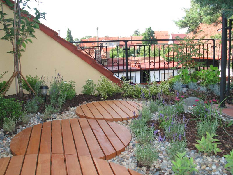 Garden On Roof