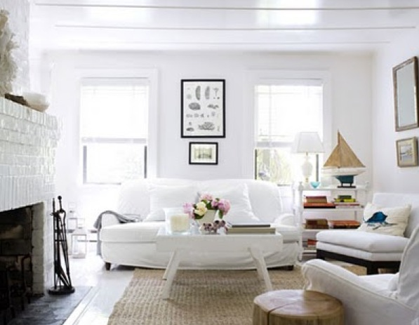Tips To Decorate Living Room With White Color Home Decor Report
