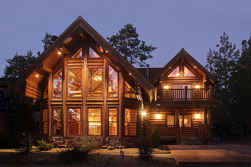 Log Home Plans With Loft