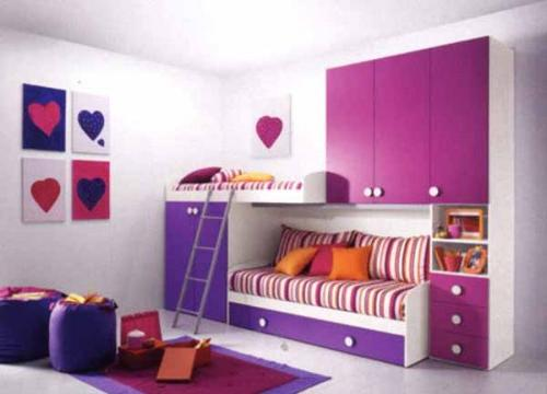 Modern Wardrobe Girls Bedroom