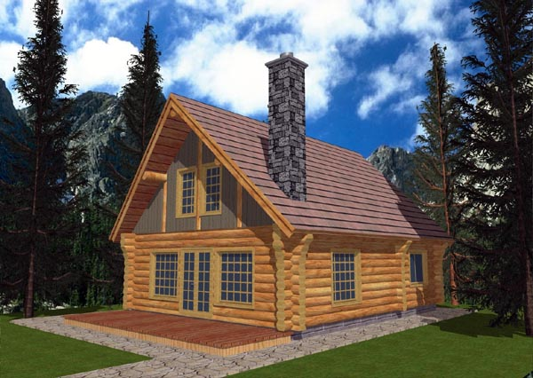 One Bedroom Cabin Plans