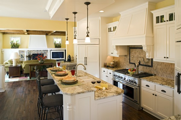 Wonderful Kitchen and Living Room with Open Floor Plan 600 x 400 · 69 kB · jpeg