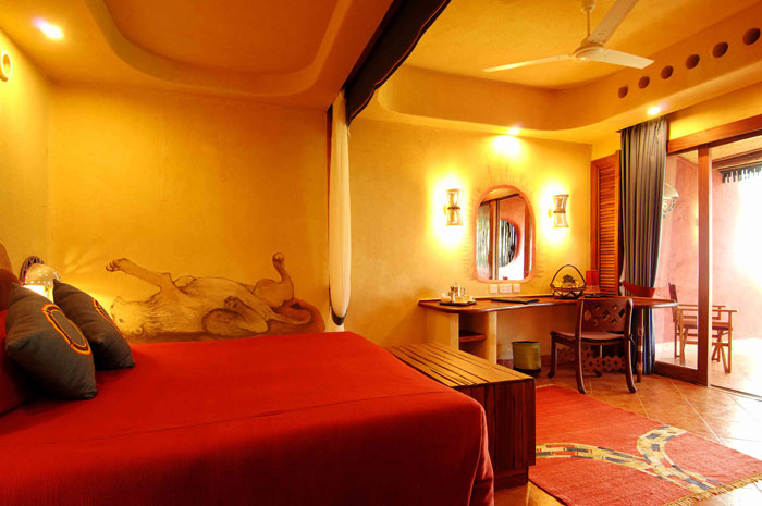 Orange brown furniture home decor report for Bedroom designs orange and brown