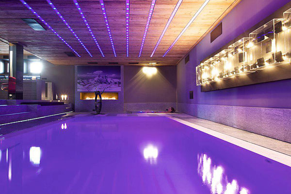 3 Ways To Build Simple Purple Swimming Pool Home Decor