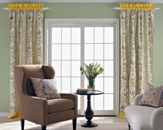 Sliding Glass Door Window Treatment Pictures
