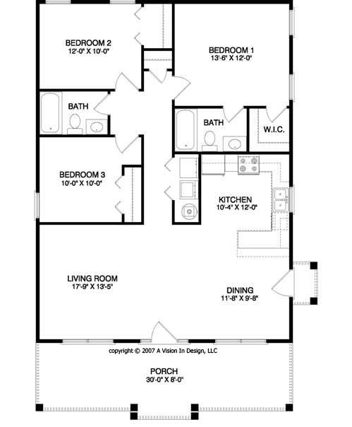 Small House Floor Plan Home Decor Report