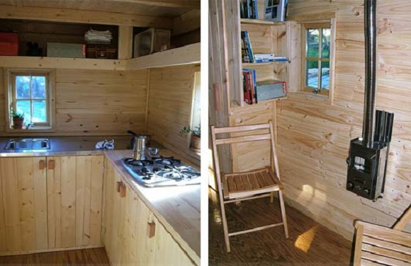 Tumbleweed Tiny House Interior