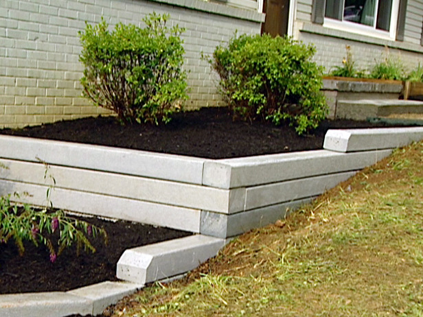 Wooden Retaining Wall Design