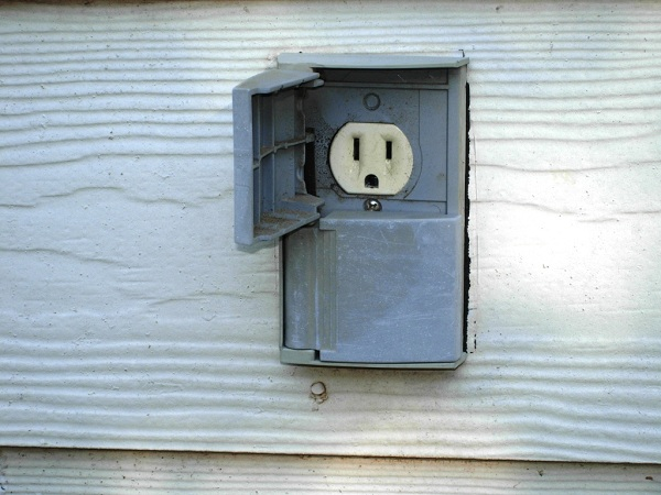 Exterior Electrical Outlet Cover
