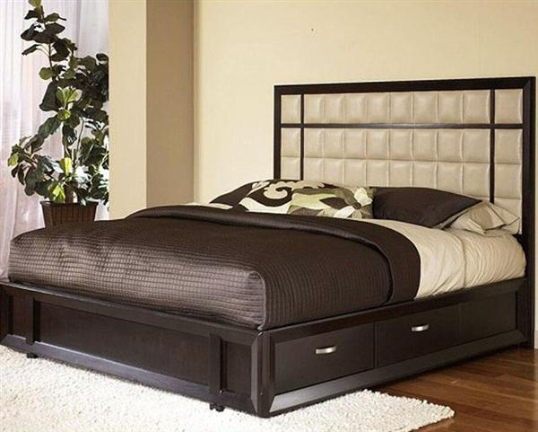 Wood box bed design for Designs of beds
