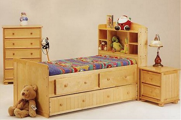Box Bed Designs In Wood
