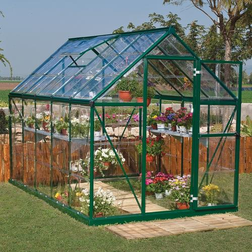 Build Glass Green House