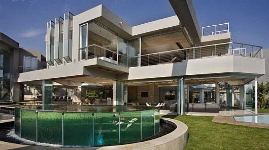 Contemporary Glass Homes