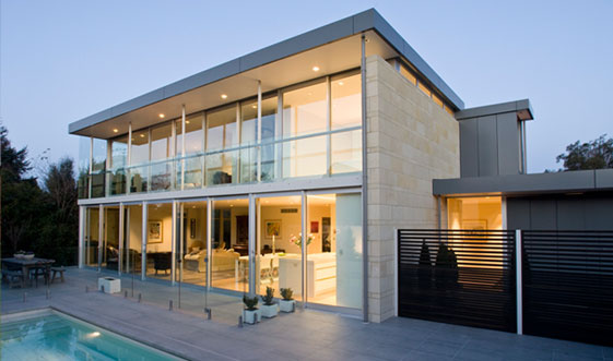 Contemporary Glass House Designs