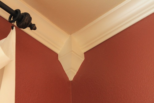Crown Moulding Corner Blocks