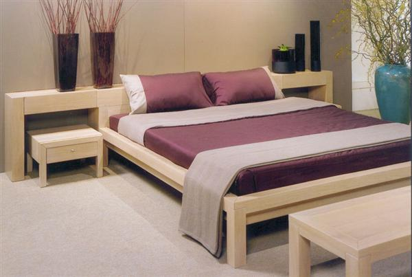 Double bed designs in wood home decor report for Double bed design photos