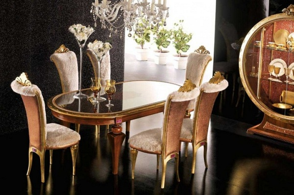 Gothic Table Chairs