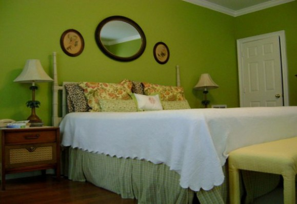 Green Bedroom Color Ideas