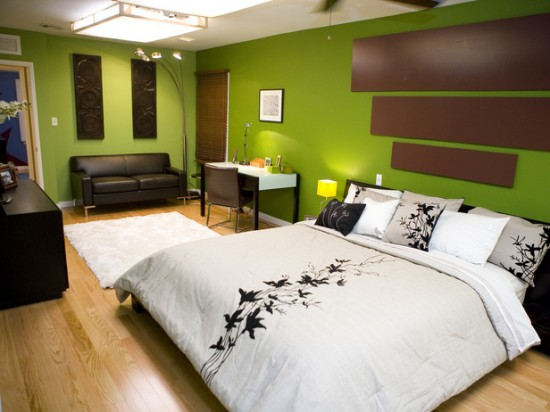Green Bedroom Color