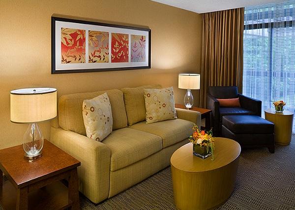 Hotel Room Decor