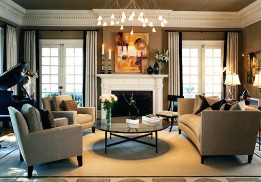 Interior Design Classic Living Room