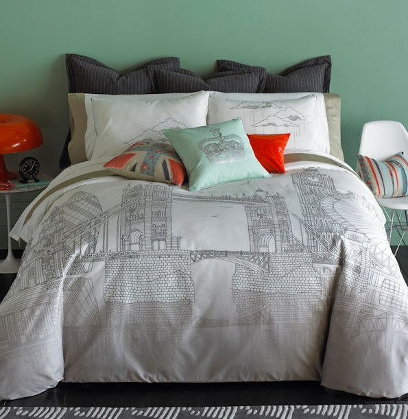 London Inspired Bedding